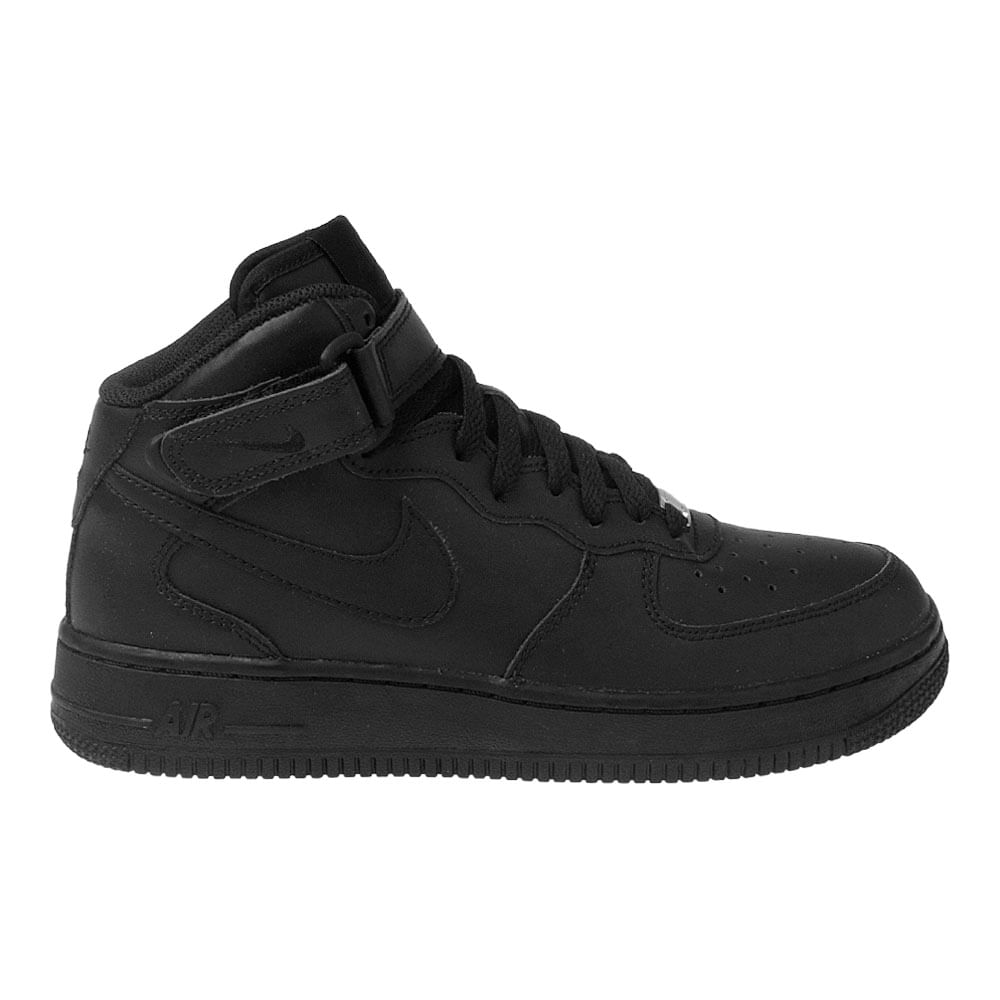 new arrivals 16715 9f295 Tênis Nike Air Force 1 Mid GS Preto Infantil - MagicFeet