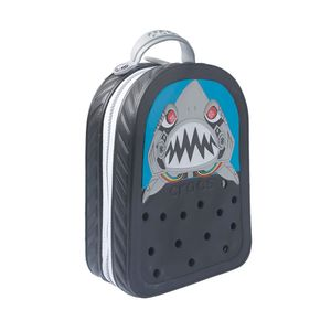 Mochila-Crocs-Crockband-2-0-Robo-Shark-Light-Up-Infantil