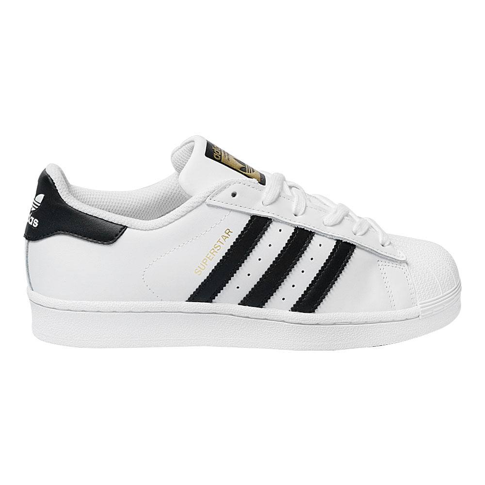 36d16a9d2a6 Tênis Adidas Superstar Foundation GS Infantil