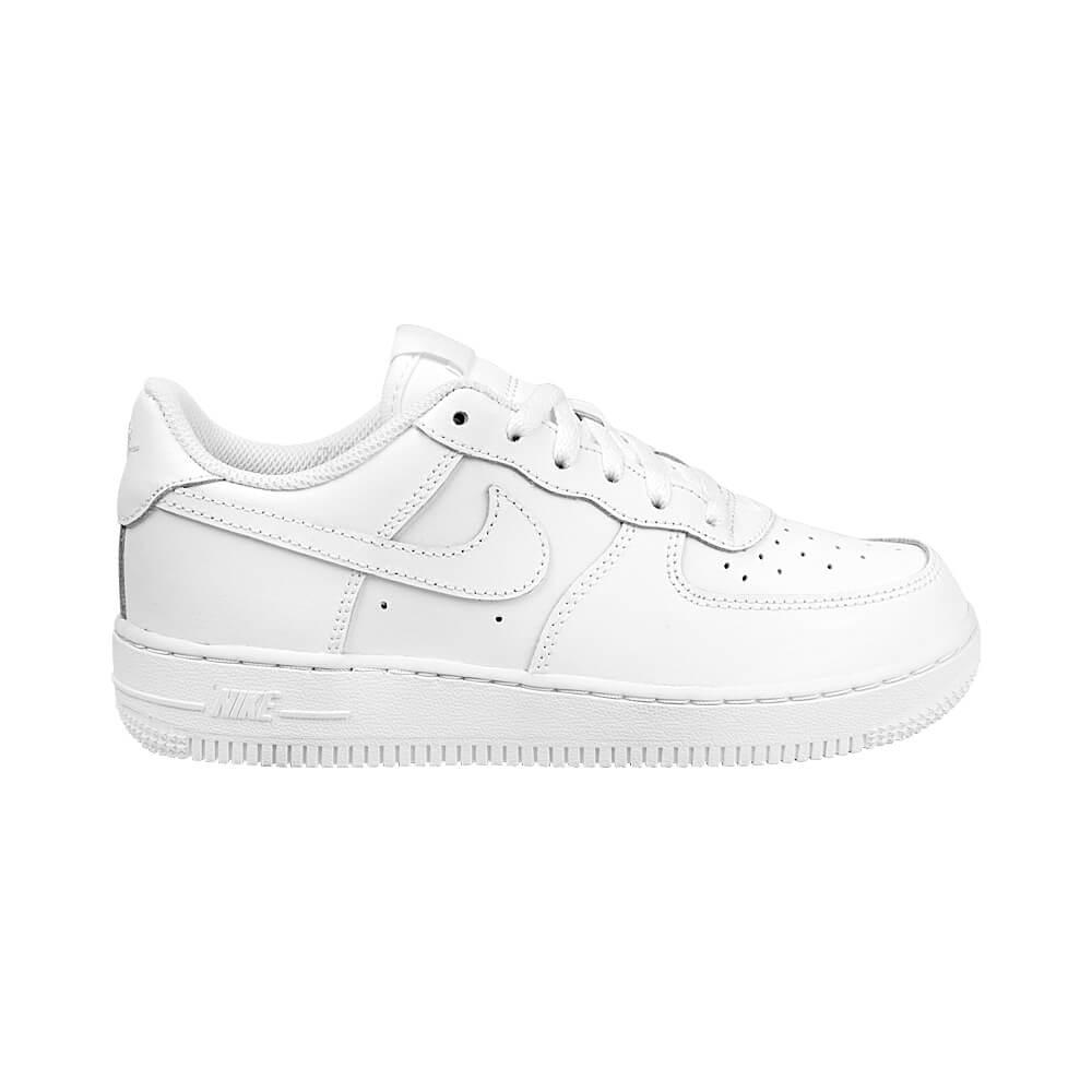 0ae391630ac Tênis Nike Air Force 1 PS Branco Infantil - MagicFeet