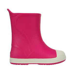 Galocha-Crocs-Bump-It-Boot-Infantil-Rosa