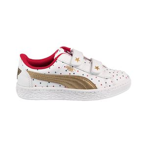 Tenis-Puma-JL-Wonder-Woman-Basket-PS-Infantil-Branca