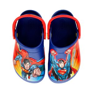 Sandalia-Crocs-Fun-Lab-Superman-Infantil-Azul