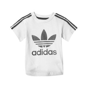 Camiseta-adidas-3-Stripes-Infantil-Branco