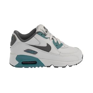 Tenis-Nike-Air-Max-90-Leather-PS-Infantil-Cinza