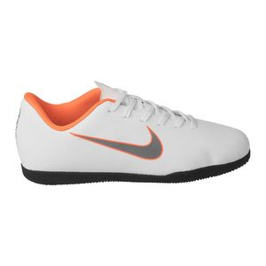 Tenis-Nike-Mercurial-Jr-Leather-PS-GS-Infantil-Branco