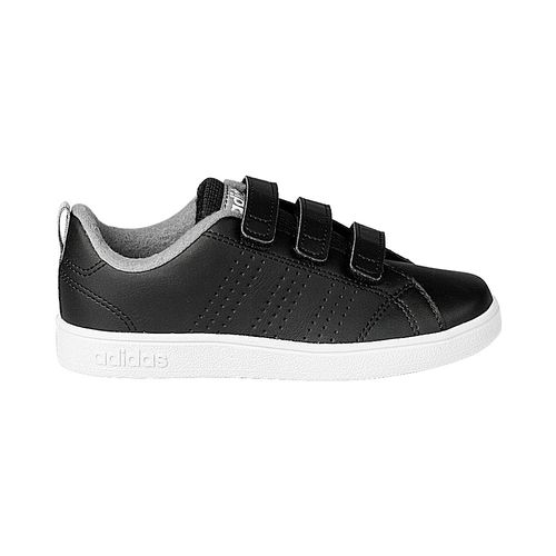 Tenis-adidas-Advantage-Clean-PS-Infantil-Preto
