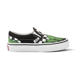 Tenis-Vans-Classic-Slip-On-Marvel-Hulk-PS-Infantil-Verde