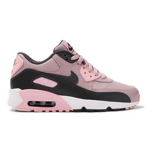 Tenis-Nike-Air-Max-90-Leather-GS-Infantil-Rosa