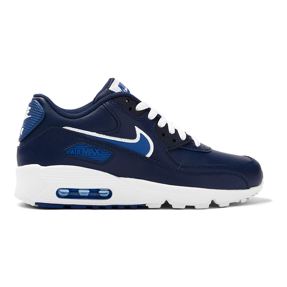 907f722db5f ... order tenis nike air max 90 leather gs infantil 2d957 c0f5e