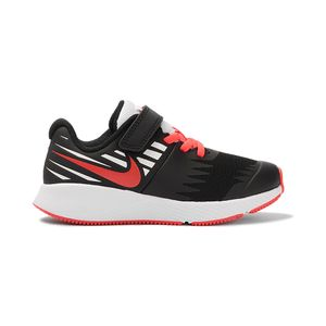 Tenis-Nike-Star-Runner-Just-Do-It-PS-Infantil-Preto