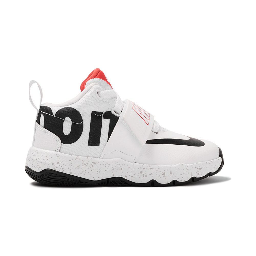 Tênis Nike Team Hustle D 8 Just Do It PS Infantil - MagicFeet eb12abf91c65a