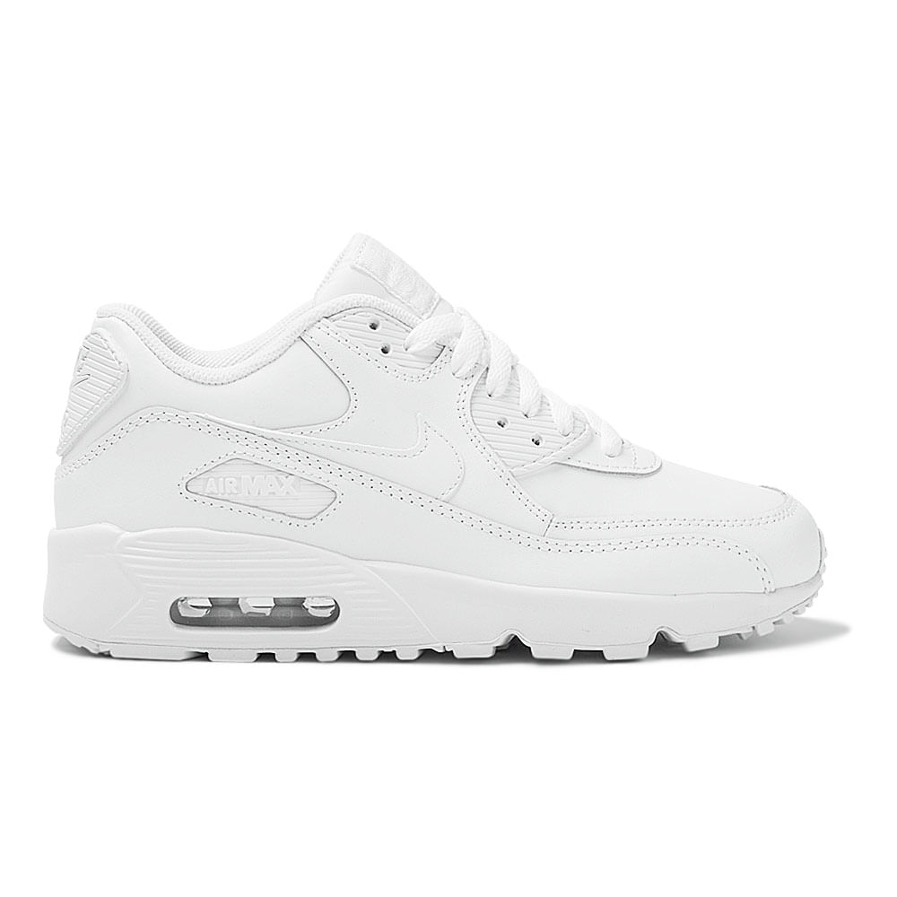 Tênis Nike Air Max 90 Leather GS Infantil  ed8408208c7a6