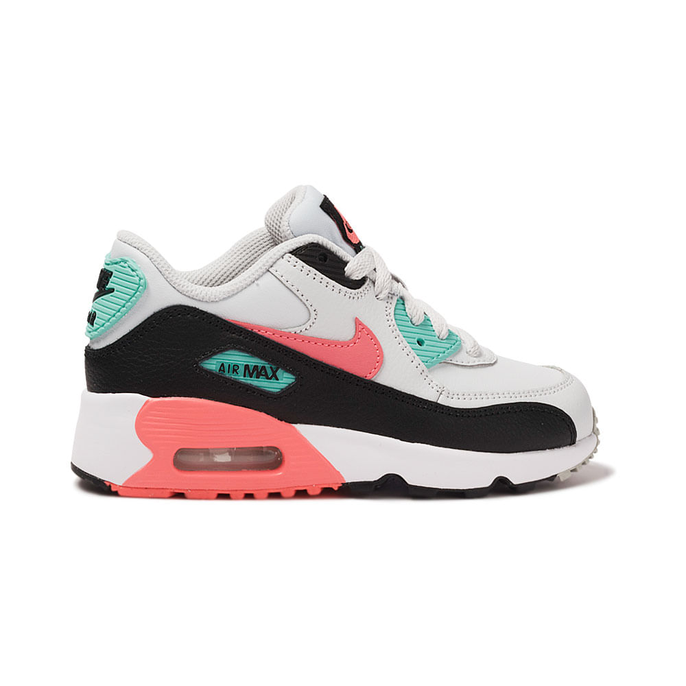 meet 25d40 76486 Tênis Nike Air Max 90 Leather PS Infantil   Tênis é na magicfeet! -  MagicFeet