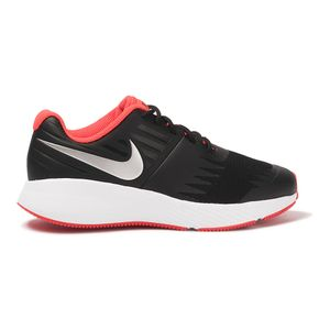 Tenis-Nike-Star-Runner-Just-Do-It-GS-Infantil-Preto