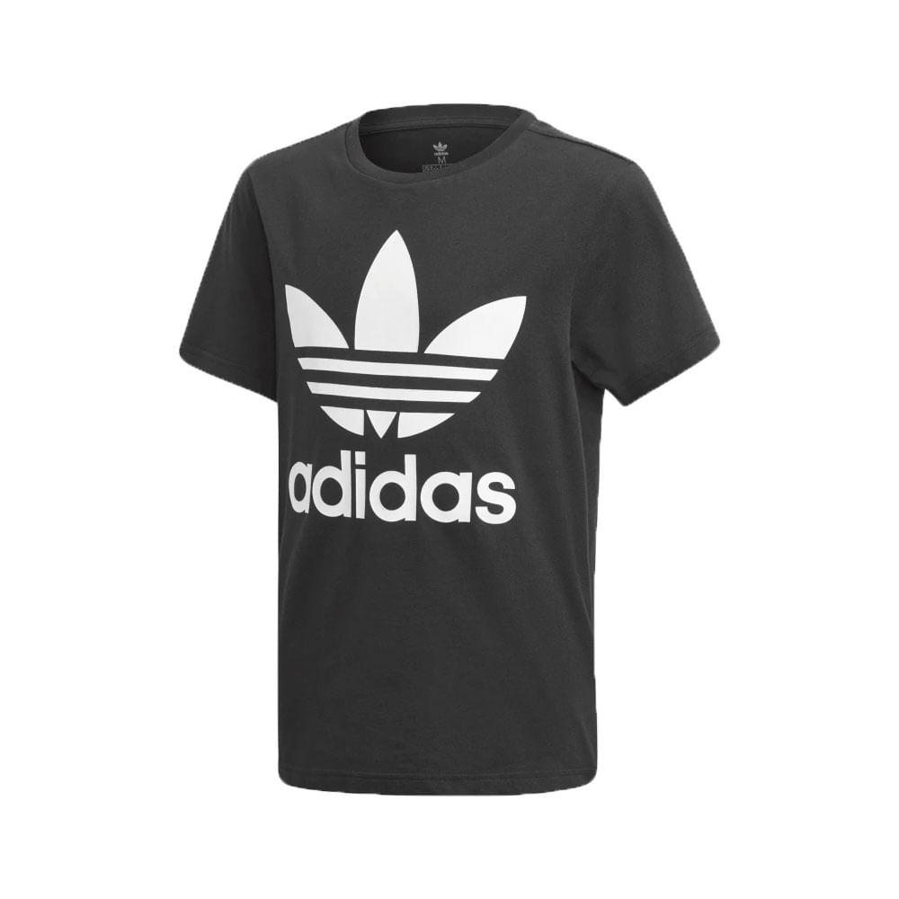 bc20d266d Camiseta-adidas-Originals-Trefoil-Infantil-Preto