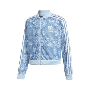 Cropped-adidas-Culture-Clash-Infantil-Azul