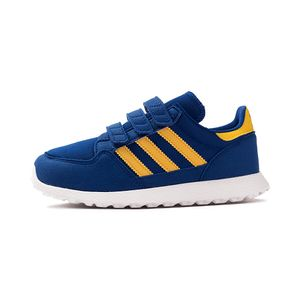 Tenis-adidas-Forest-Grove-PS-GS-Infantil-Azul