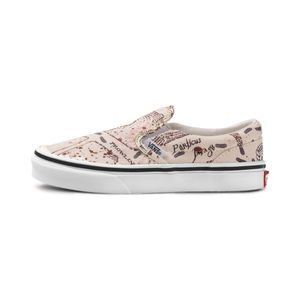 Tenis-Vans-Classic-Slip-On-Harry-Potter-PS-Infantil-BUTV3-C-200-Beje