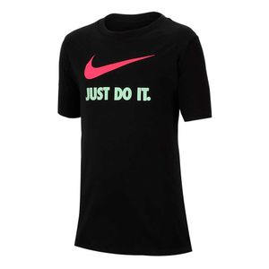 Camiseta-Nike-Just-Do-It-Infantil-Preta