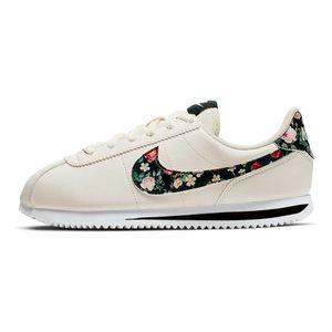 Tenis-Nike-Cortez-Basic-Leather-VF-GS-Infantil-Bege
