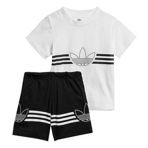 Conjunto-adidas-Originals-Outline-Infantil-Branco