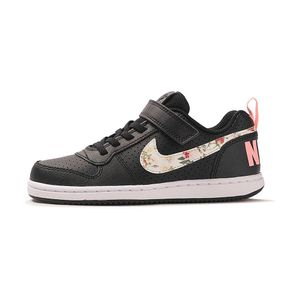 Tenis-Nike-Court-Borough-Low-VF-PSV-Infantil-Preto