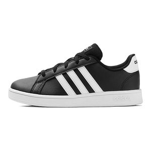 Tenis-adidas-Grand-Court-K-PS-GS-Infantil-Preto