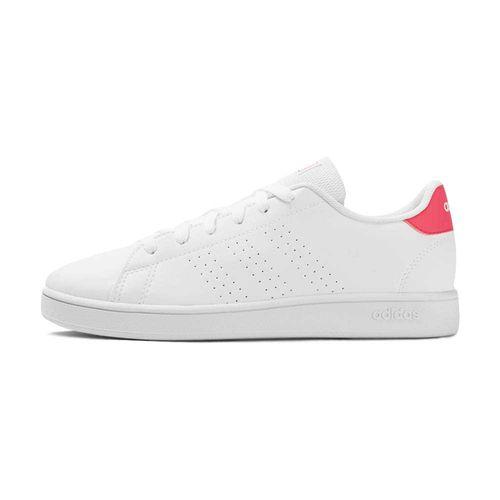 Tenis-adidas-Advantage-PS-GS-Infantil-Branco
