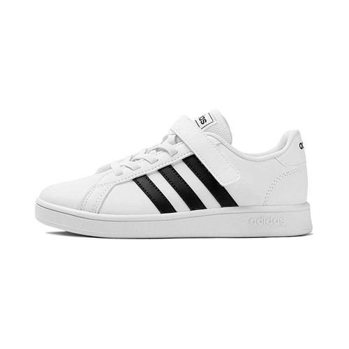 Tenis-adidas-Grand-Court-C-PS-Infantil-Branco