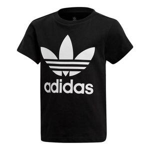 Camiseta-adidas-Originals-Trefoil-Infantil-Preta