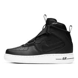 Tenis-Nike-Air-Force-1-Highness-Gs-Infantil-Preto