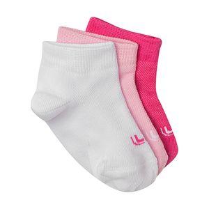 Meia-Lupo-Sport-3-Pares-Infantil-Multicolor