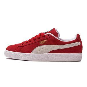 Tenis-Puma-Suede-Classic-Gs-Infantil-Vermelho