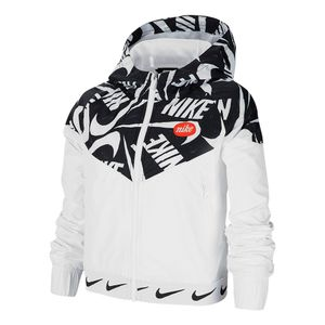 Jaqueta-Nike-Windrunner-Just-Do-It-Infantil-Branco