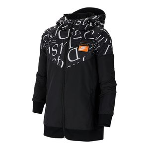 Jaqueta-Nike-Windrunner-Just-Do-It-Infantil-Preta