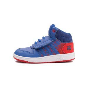 Tenis-Adidas-Hoops-Mid-2-0-Td-Infantil-Azul