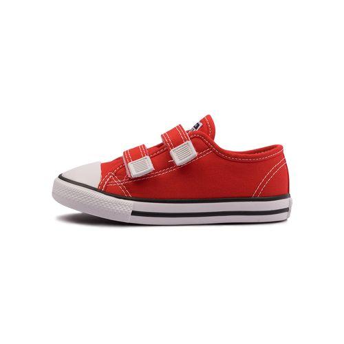 Tenis-Converse-Chuck-Taylor-All-Star-Border-2V-Infantil-Vermelho
