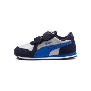 Tenis-Puma-Cabana-Racer-Td-Infantil-Azul