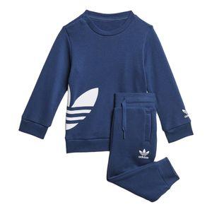 Conjunto-adidas-Big-Trefoil-Infantil-FM560-6-400-Azul