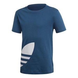 Camiseta-Adidas-Big-Trefoil-J-Infantil-Azul