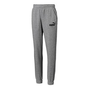 Calca-Puma-Logo-Sweat-Pants-Infantil-Cinza