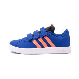 Tenis-Adidas-Vl-Court-2.0-Cmf-Ps-Infantil-Azul