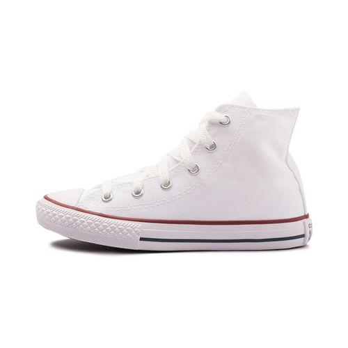 Tenis-Converse--Chuck-Taylor-All-Star-Core-Hi-Ps-Infantil-Branco
