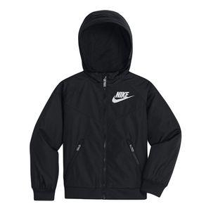 Jaqueta-Nike-Windrunner-Infantil-Preto