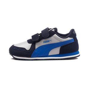 Tenis-Puma-Cabana-Racer-Psv-Infantil-Azul