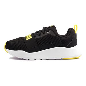 Tenis-Puma-Wired-Gs-Infantil-Preto