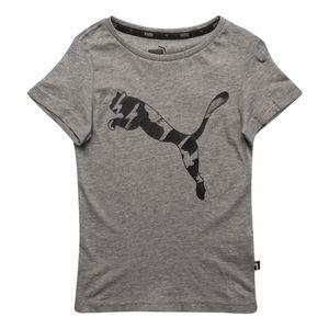 Camiseta-Puma-Ka-Infantil-Cinza
