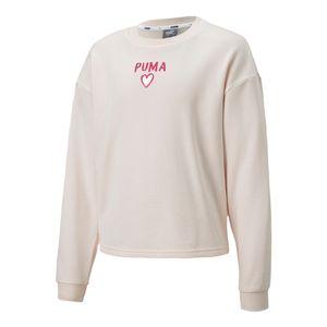 Blusa-Puma-Alpha-Infantil-Rosa
