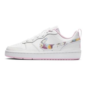 Tenis-Nike-Court-Borough-Low-2-Se-Gs-Infantil-Branco